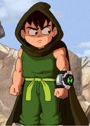 Ben in Tales from the Omnitrix