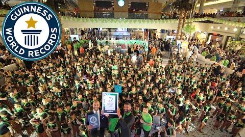 Maior encontro de pessoas vestidas como Ben 10 - Guinness World Records