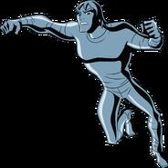 Kevin UAF action pose 1