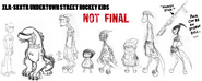 Kineceleran Kids Model Sheet