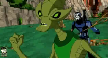 Depredadores y presa crashhopper
