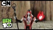 Ben 10 Toys XLR8 VS Hex Cartoon Network