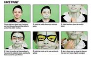 Diamondhead facepaint 2