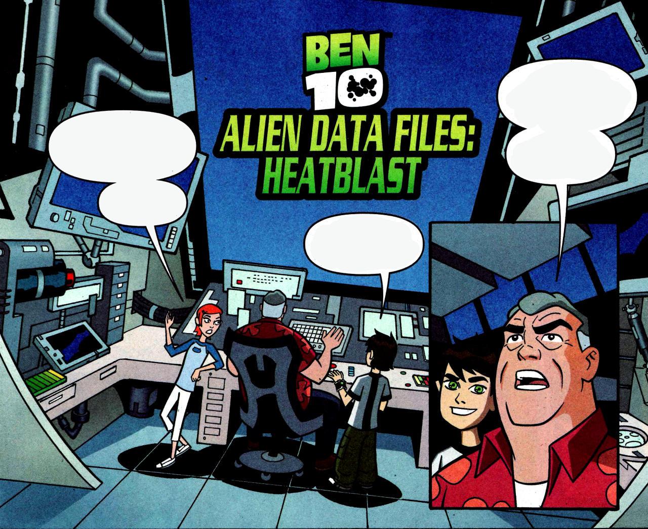 Alien Data Files: Heatblast
