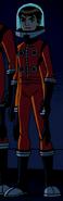 Ben Orange Spacesuit
