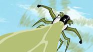 Insectóide disparando gosma em Segredos 2