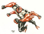 Dave Johnson Four Arms Watercolor