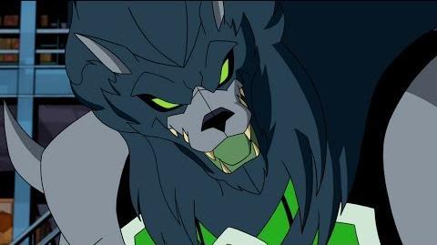 Ben 10 Omniverse - Blitzwolfer Transformation