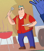 Grandpa Max Just wants to grill for God sakes