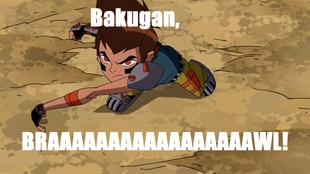 Mad Ben Bakugan Meme