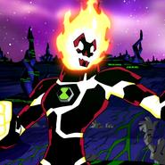 Heatblast Ultimate Insanity character