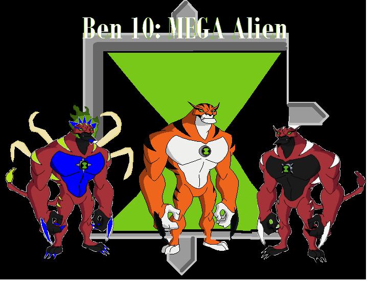 Ben 10: MEGA Alien
