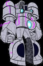 Chronian Warship Robo