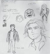 Mutant Drake Concept Art - Ryder