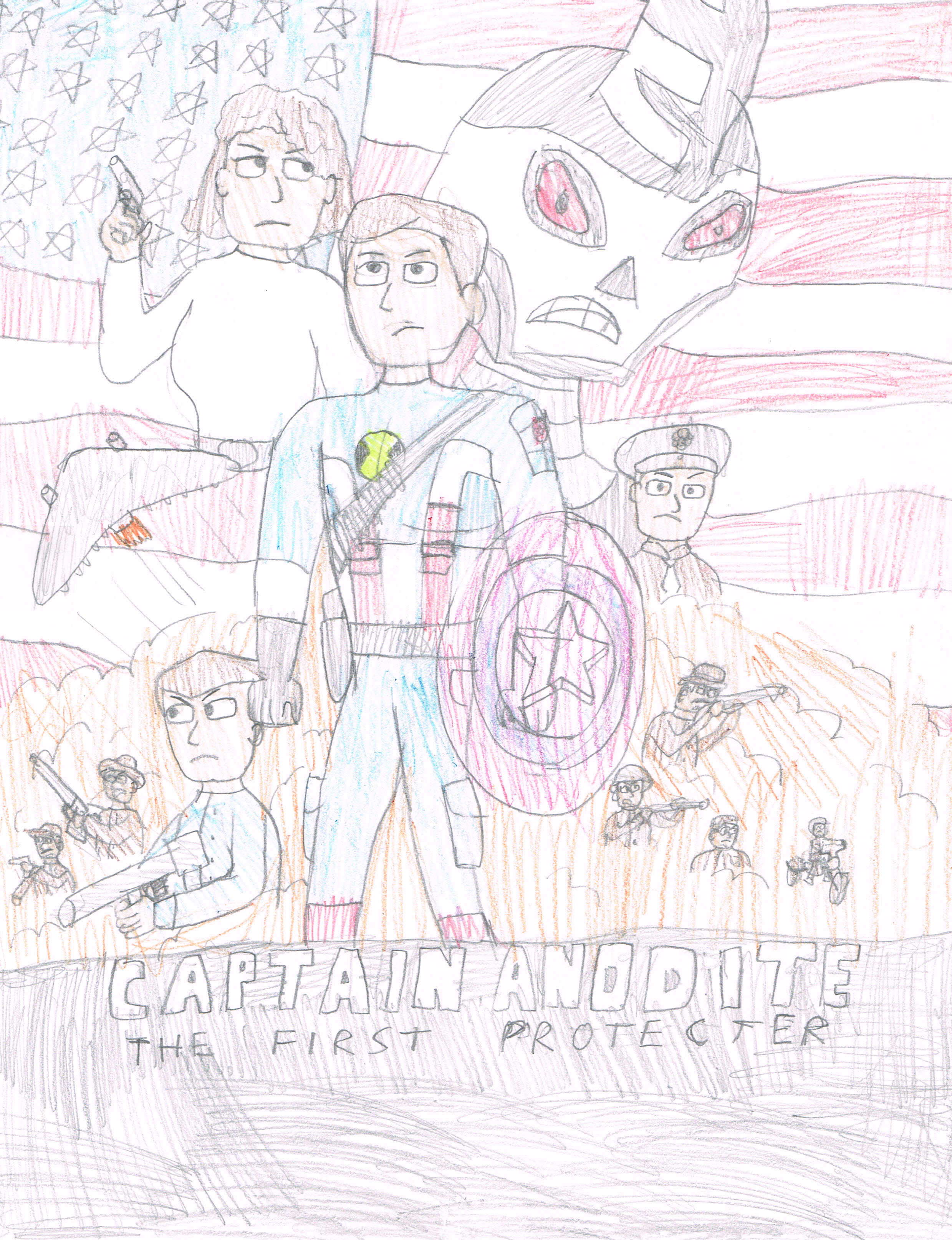 Captain Anodite: The First Protector