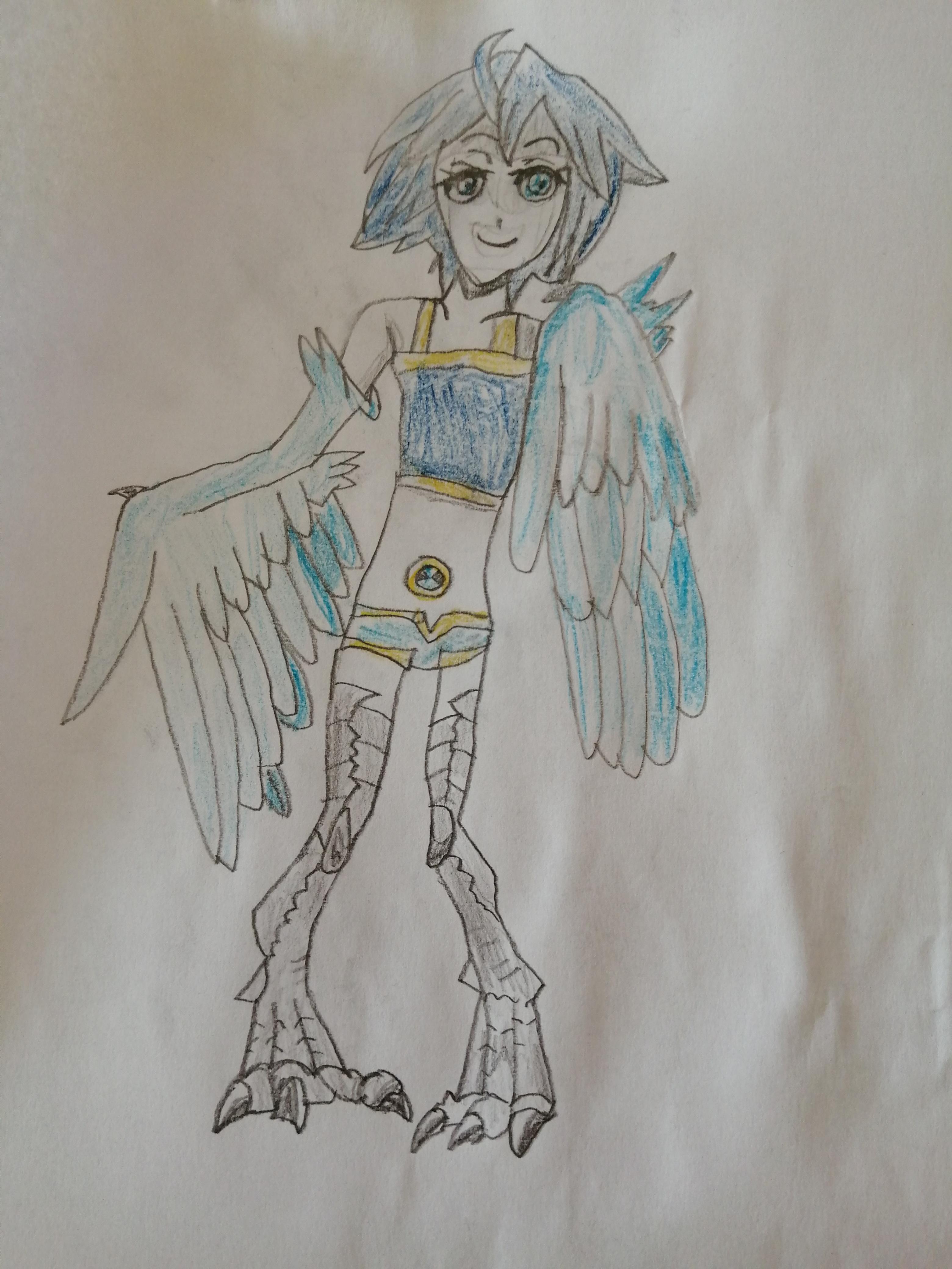 Bird Girl (Neon 23)