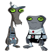 Blukic and Driba (Earth-1010)