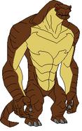 Caleb 13 as Humungousaur