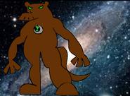 Official humungousaur(ben10- race against albedo