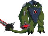 Ultimate Humungousaur (Alien Wars)