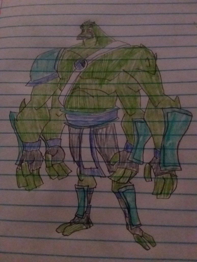 Four Arms (Ben10fan090 Alien)