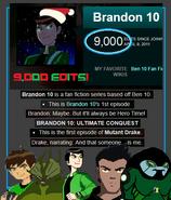 9,000 User Edits Special