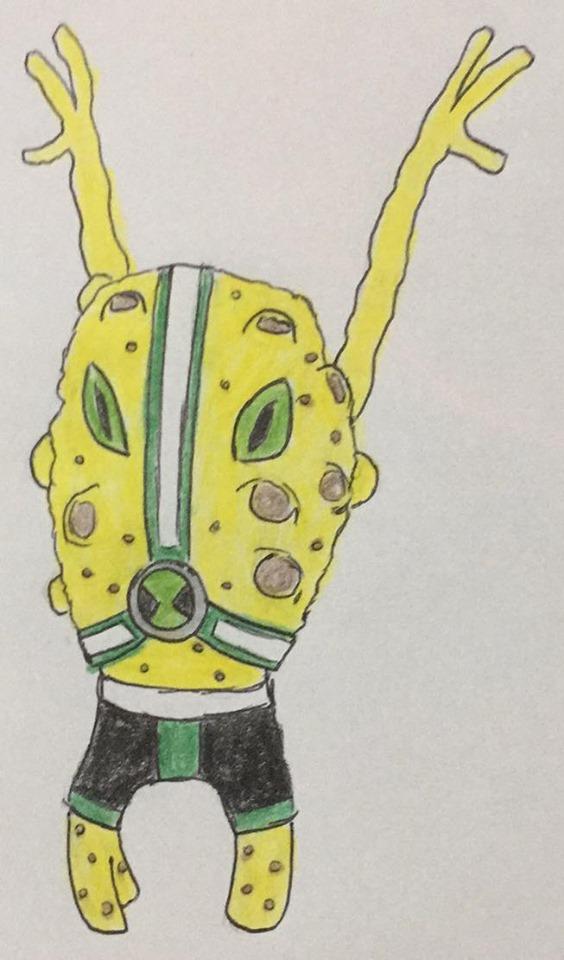 Bungee Sponge (Battle Ben-OH)