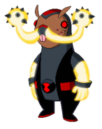 Enhanced Mole-Stache Glowing