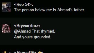 Proof that i am Ahamdds dad