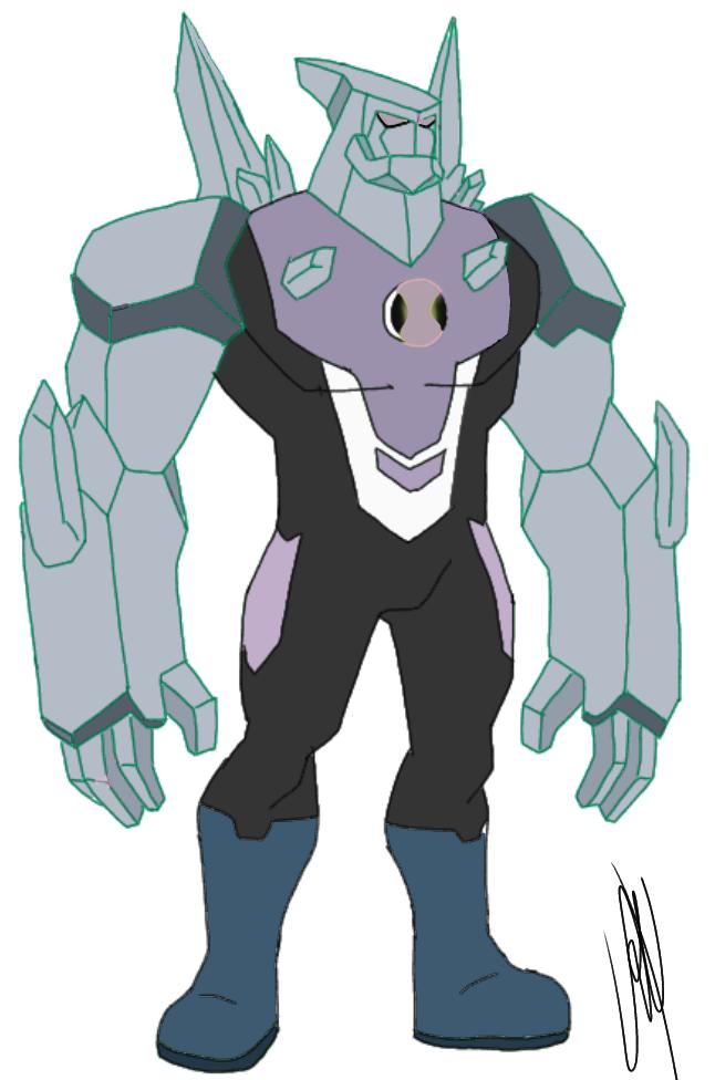 Diamondhead (Nega Ben-OH)