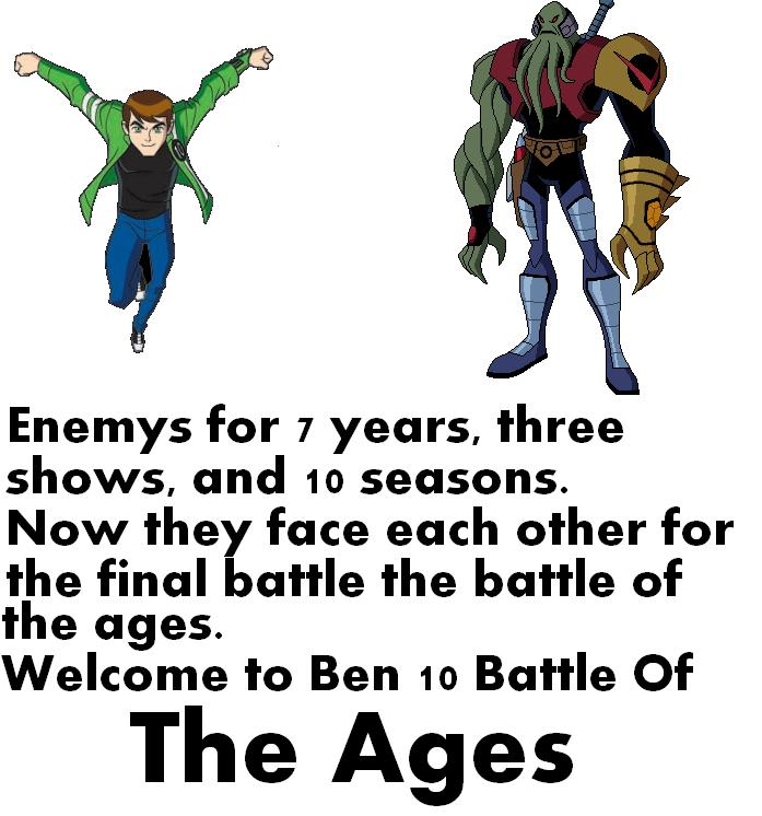 Ben 10: Battle Of The Ages
