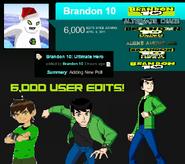6,000 User Edits Special