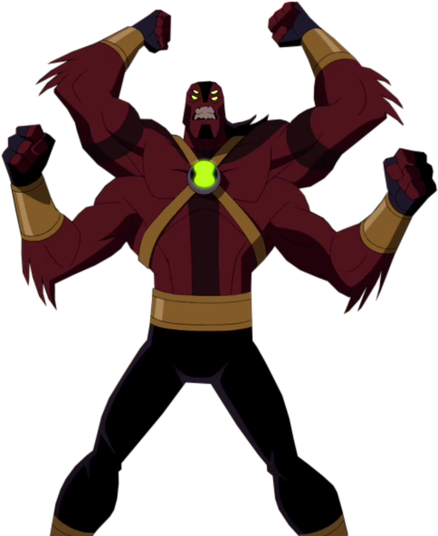 Four Arms (Earth-50)/Timeline 1