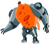Prototipo de Upchuck pose