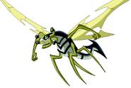 Insectoide OV volando despiX