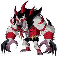 Mega Zangoose alias Rath Supremo despixeleado por Axel