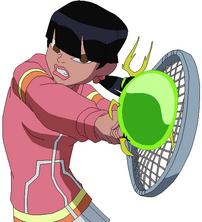 The tennis power (¿)