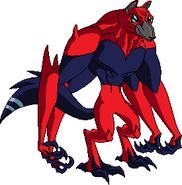 Lobo fusionado (4 brazos)