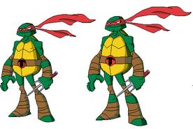 Pose rara de Raphael despixeleado por mi