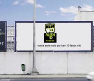 Cartel de anuncios M.A.