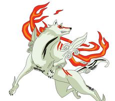 Regalo para Lobo (Okami , el dios lobo)