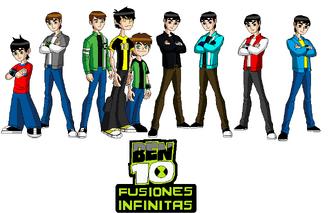 El Equipo de Ben en Fusiones Infinitas4