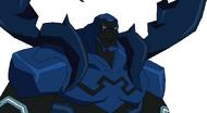 Blue Beetle despixelado