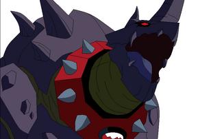Mascota de Khyber despixelada