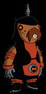Mole-Stache de Mad Ben (PU)