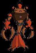 Kangrejo Kraken de Mad Ben