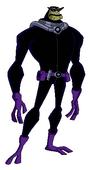Bullfrag con traje Inkursiano pose SEM
