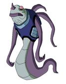 Alien Anguila de Pueblo Bajo por SEM