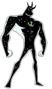 Pose de alien X hecha por Axel
