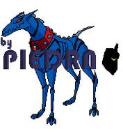 Mascota de Khyber by Piedra firmado